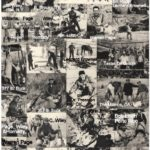 Les Bowman, 1955 season pics.  P.O. and Bowman corresponded and hunted together.