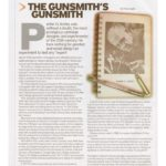 Guns & Ammo article about researching Ackley Book.